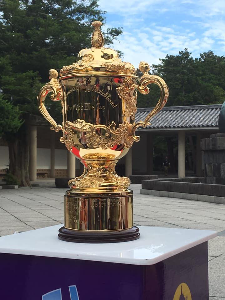 ラグビーワールドカップ2019トロフィーツアー㏌鎌倉